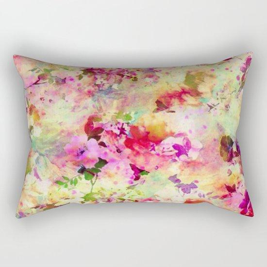 spring floral Rectangular Pillow