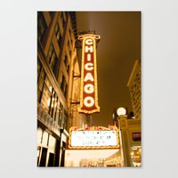 theatre Canvas Prints featuring Theatre by Riley Helsen