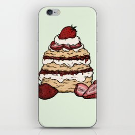 S is for Shortcake iPhone Skin