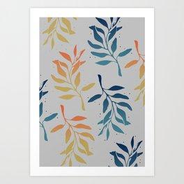 Pinnate Beauties Art Print