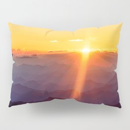 Alpine Sunrise II Pillow Sham