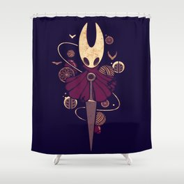Silksong Hollow Knight Hornet Bug Videogame Shower Curtain