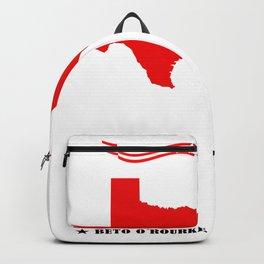 Texas Loves Beto Shirt Beto O'Rourke Senate 2018 Backpack