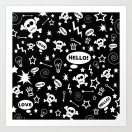 Hello Love! Art Print