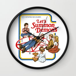 Let's Summon Demons Wall Clock