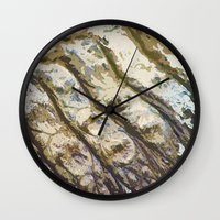 leather Wall Clocks featuring Genuine Leather by Avigur