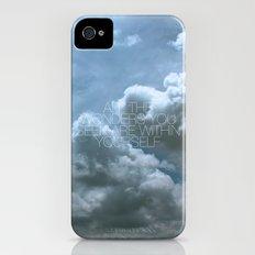 Wonder Cloud iPhone (4, 4s) Slim Case
