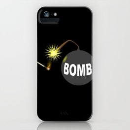 Bomb and Match iPhone Case