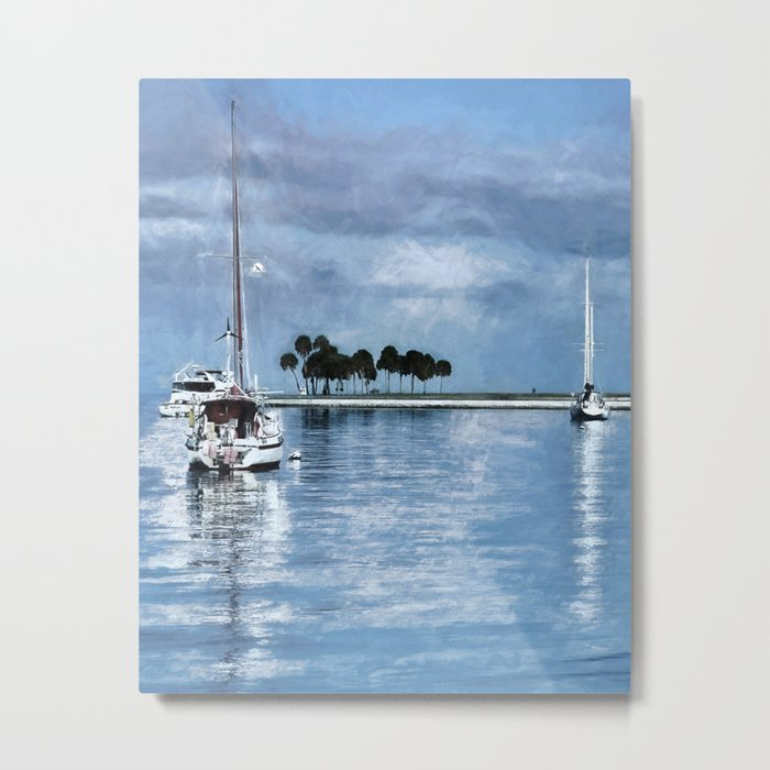 Lost In Tranquility Metal Print