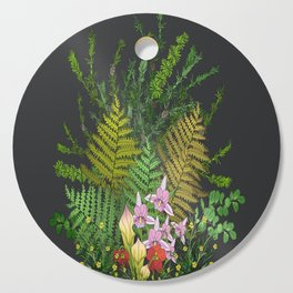 Bog Bouquet Cutting Board