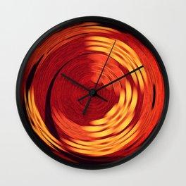 Potter's Wheel Wall Clock