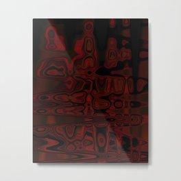 Life In A Lava Lamp  Metal Print