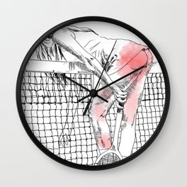 Jeu set et smack Wall Clock