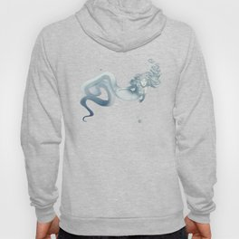 Elegant Sea Snake Mermaid Hoody
