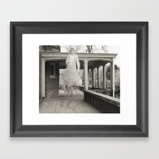 Nostomania (plan for a painting) Framed Art Print