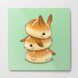 Hot Cross Bunbuns Metal Print