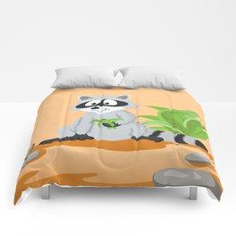 Woodland Animals Serie I. Raccoon Comforters