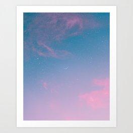 Candied Atmosphere Art Print