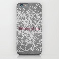 Concrete & Letters II Slim Case iPhone 6s