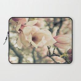 Magnolia Tree Bloom.  Flower Photography Laptop Sleeve