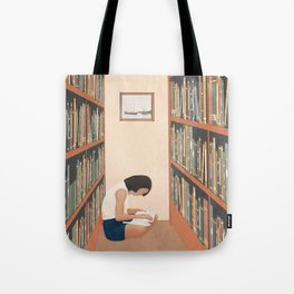 Getting Lost in a Book Tote Bag