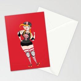Roller Derby Stationery Cards