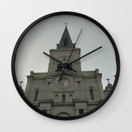 St. Louis Cathedral - New Orleans, LA Wall Clock