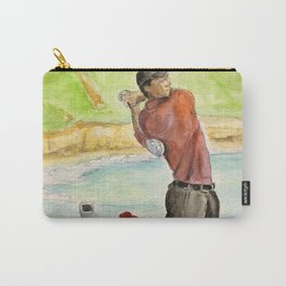 Tiger Woods_Professional golfer Carry-All Pouch