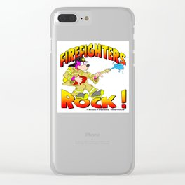 Firefighters Rock Merchandise Clear iPhone Case