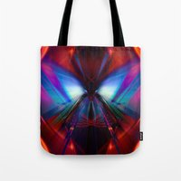 rush Tote Bags featuring Rush by Robin Curtiss