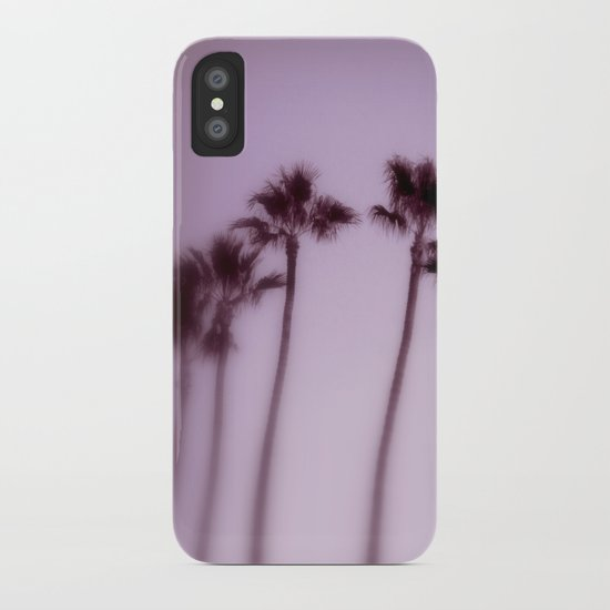 lilac twilight iPhone Case