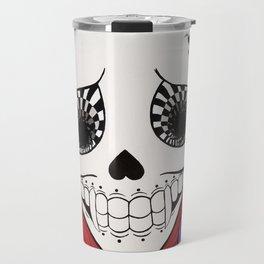 Vampire Skull Travel Mug