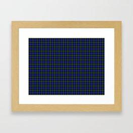 MacNeil of Barra Tartan Framed Art Print