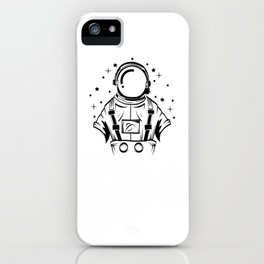 Are You A Fan Of Astronomy? An Astronaut Dreamer? Here's An Antronaut Inside A Bulb T-shirt Ideas iPhone Case