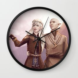Dragon Age - Finding Skyhold - Solas and Inquisitor Wall Clock