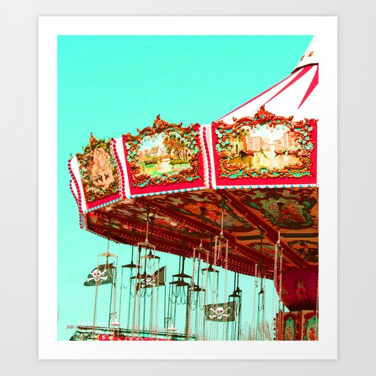 Midway Art   Art Print