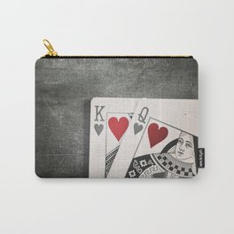 King and Queen of Hearts Carry-All Pouch