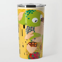 Klimt muppets Travel Mug