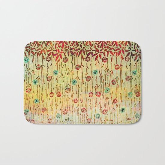 Flower Shower Bath Mat