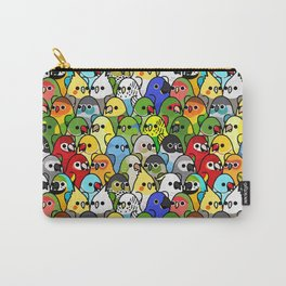 Too Many Birds Carry-All Pouch