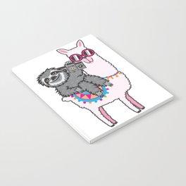 Sloth Music Llama Notebook