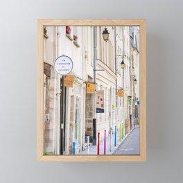 Paris Street Style No. 3 Framed Mini Art Print