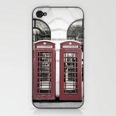 Red Telephone Box iPhone & iPod Skin