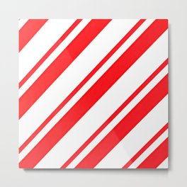 Candy Stripes Metal Print