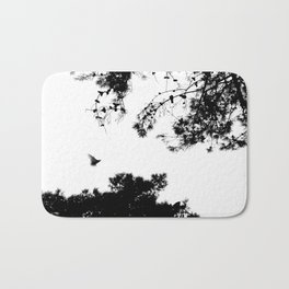 freedom to fly up to sky Bath Mat