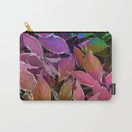 Behind Leaves #society6 #decor #buyart Carry-All Pouch