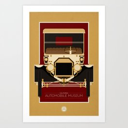 California Automobile Museum Art Print