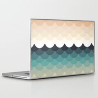 waves Laptop & iPad Skins featuring Waves by Marta Li