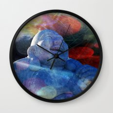 Jolly Budha Wall Clock