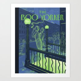 The Boo Yorker: A Night Out Art Print